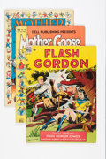 Golden Age (1938-1955):Miscellaneous, Dell/Gold Key Group (Dell/Gold Key/Whitman, 1940s-80s) Condition: Average VG.... (Total: 36 Comic Books)