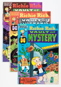 Bronze Age (1970-1979):Cartoon Character, Richie Rich Vaults of Mystery #1-47 File Copy Short Box Group (Harvey, 1974-82) Condition: Average NM-....