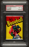 Baseball Cards:Singles (1970-Now), 1973 Topps Baseball 4th Series Wax Pack PSA NM-MT 8. ...