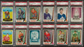 Hockey Cards:Lots, 1969 O-Pee-Chee Hockey PSA NM-MT 8 Collection (21). ...