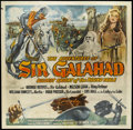 "Movie Posters:Adventure, The Adventures of Sir Galahad (Columbia, 1949). Six Sheet (81"" X 81""). Adventure. Starring George Reeves, William Fawcett, N..."