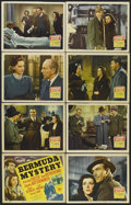 "Movie Posters:Mystery, Bermuda Mystery (20th Century Fox, 1944). Lobby Card Set of 8 (11""X 14""). Mystery. Starring Preston Foster, Ann Rutherford,...(Total: 8 Items)"