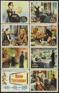 """Movie Posters:Comedy, Born Yesterday (Columbia, 1950). Lobby Card Set of 8 (11"""" X 14""""). Romantic Comedy. Starring Judy Holliday, William Holden, B... (Total: 8 Items)"""