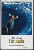 "Movie Posters:Animated, Fantasia (Buena Vista, R-1970s). One Sheet (27"" X 41""). Animated.Starring Leopold Stokowski and the voices of Deems Taylor,...(Total: 3 Item)"