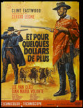 "Movie Posters:Western, For a Few Dollars More (United Artists, 1967). French Grande (45.5"" X 62""). Western. Starring Clint Eastwood, Lee Van Cleef,..."