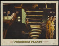 """Movie Posters:Science Fiction, Forbidden Planet (MGM, 1956). Lobby Card (11"""" X 14""""). Science Fiction. Starring Walter Pidgeon, Anne Francis, Leslie Nielsen..."""
