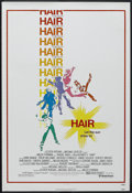 """Movie Posters:Musical, Hair (United Artists, 1979). One Sheet (27"""" X 41""""). Musical. Starring John Savage, Treat Williams, Beverly D'Angelo, Nichola..."""