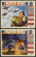 "Movie Posters:War, I Wanted Wings (Paramount, 1941). Lobby Cards (2) (11"" X 14"").Drama. Starring Ray Milland, William Holden, Wayne Morris, Br...(Total: 2 Items)"