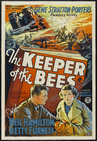 "Keeper of the Bees (Monogram, 1935). One Sheet (27"" X 41""). Drama. Starring Neil Hamilton, Betty Furness, Emma..."