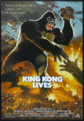 "Movie Posters:Adventure, King Kong Lives (DeLaurentis, 1986). One Sheet (27"" X 41"").Adventure. Starring Linda Hamilton, Peter Elliott, George Yiasou..."