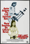 "Movie Posters:Sports, The Last American Hero (20th Century Fox, 1973). Poster (40"" X 60""). Sports Drama. Starring Jeff Bridges, Valerie Perrine, G..."