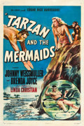 "Movie Posters:Adventure, Tarzan and the Mermaids (RKO, 1948). One Sheet (27"" X 41"").. ..."
