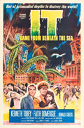 "Movie Posters:Science Fiction, It Came from Beneath the Sea (Columbia, 1955). One Sheet (27"" X41"").. ..."