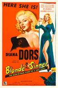 """Movie Posters:Bad Girl, Blonde Sinner (Allied Artists, 1956). One Sheet (27"""" X 41"""").. ..."""