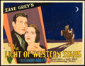 "Movie Posters:Western, Light of the Western Stars (Paramount, 1930). Half Sheet (22"" X28"").. ..."
