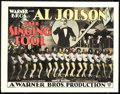 "Movie Posters:Musical, The Singing Fool (Warner Brothers, 1927). Title Lobby Card (11"" X 14"").. ..."