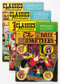 Golden Age (1938-1955):Classics Illustrated, Classics Illustrated Group (Gilberton, 1950s) Condition: AverageVG+.... (Total: 44 Comic Books)