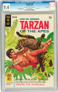 Silver Age (1956-1969):Adventure, Tarzan #183 Twin Cities pedigree (Gold Key, 1969) CGC NM 9.4 Off-white to white pages....
