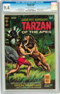 Silver Age (1956-1969):Adventure, Tarzan #184 Twin Cities pedigree (Gold Key, 1969) CGC NM 9.4 Off-white to white pages....