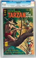Bronze Age (1970-1979):Adventure, Tarzan #191 Twin Cities pedigree (Gold Key, 1970) CGC NM+ 9.6 White pages....