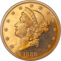Proof Liberty Double Eagles, 1888 $20 PR65 Deep Cameo PCGS. CAC....