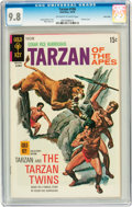 Bronze Age (1970-1979):Adventure, Tarzan #196 Twin Cities pedigree (Gold Key, 1970) CGC NM/MT 9.8 Off-white to white pages....