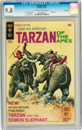 Bronze Age (1970-1979):Adventure, Tarzan #197 Twin Cities pedigree (Gold Key, 1970) CGC NM/MT 9.8 Off-white to white pages....