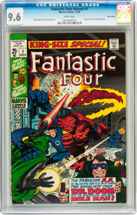 Fantastic Four Annual #7 Twin Cities pedigree (Marvel, 1969) CGC NM+ 9.6 White pages