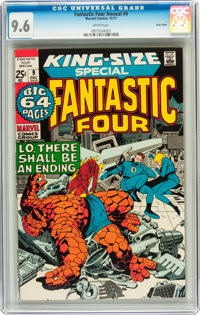 Fantastic Four Annual #9 Twin Cities pedigree (Marvel, 1971) CGC NM+ 9.6 White pages