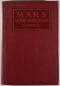 Books:Science & Technology, [Jerry Weist]. [Donald A. Wollheim's copy]. Percival Lowell. Mars as the Abode of Life. New York: Macmillan, 1910. L...
