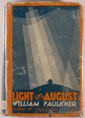 Books:Literature 1900-up, William Faulkner. Light in August. [New York]: HarrisonSmith and Robert Haas, [1932]. Third printing. Octavo. 480 p...