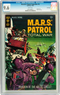 Silver Age (1956-1969):Science Fiction, M.A.R.S. Patrol Total War #4 Twin Cities pedigree (Gold Key, 1967) CGC NM+ 9.6 White pages....