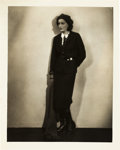 "Movie Posters:Photo, Greta Garbo by Ruth Harriet Louise (MGM, Late 1920s). PortraitPhoto (8"" X 10"").. ..."