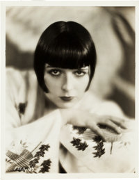 "Louise Brooks by Eugene Robert Richee (Paramount,1928). Portrait Photo (7.75"" X 10"")"