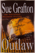Books:Mystery & Detective Fiction, Sue Grafton. O Is for Outlaw. London: Macmillan, [1999].First English edition. Octavo. 351 pages. Publisher's b...