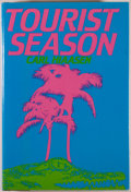 Books:Mystery & Detective Fiction, Carl Hiaasen. Tourist Season. New York: Putnam's, [1986]. First edition. Octavo. 272 pages. Publisher's binding,...