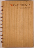 Books:Americana & American History, [California]. Hartley Everett Jackson. SIGNED. California. AConcise History 1542-1939. First edition. San Francisco...