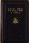 Books:Americana & American History, American Battle Monuments Commission. American Armies andBattlefields in Europe. United States: Government Printing...