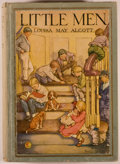 Books:Children's Books, Louisa May Alcott. Little Men. Life at Plumfield with Jo's Boys.Illustrated by Clara M. Burd. Philadelphia: Winston, [1928]. Fi...
