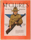 Books:Americana & American History, [Magazines]. Lot of 8 McClure's Magazines. New York:McClure's, 1916-1918. Folios. Publisher's wrappers. Mild we...