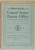 Books:Americana & American History, [Patents]. The Official Gazette of the United States PatentOffice. Washington, D. C.: Department of Commerce, 1939....(Total: 11 Items)