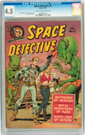 Golden Age (1938-1955):Science Fiction, Space Detective #2 (Avon, 1951) CGC VG+ 4.5 Cream to off-whitepages....