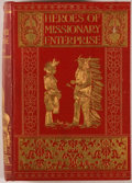 Books:Religion & Theology, Claud Field, Heroes of Missionary Enterprise. Philadelphia: Lippincott, [1908]. Octavo. 335 pages. With 24 plate...