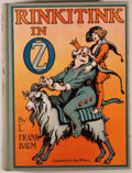 Books:Children's Books, L. Frank Baum. Rinkitink in Oz. Illustrated by John R.Neill. Chicago: Reilly & Lee, [n.d., ca. 1945]. Later edi...
