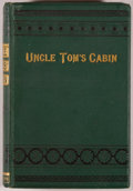 Books:Literature 1900-up, Harriet Beecher Stowe. Uncle Tom's Cabin; or, Negro Life inAmerica. London: Nicholson, [n.d., ca. 1880]. Reprin...