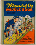 Books:Children's Books, L. Frank Baum. The Wizard of Oz Waddle Book. New York: BlueRibbon, [1934]. Later edition. Octavo. 211 pages. Illust...