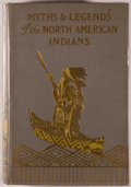 Books:Americana & American History, Lewis Spence. The Myths & Legends of the North AmericanIndians. London: Harrap, 1914. First English and first hardc...