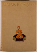 Books:Literature Pre-1900, [Hamzeh Carr, illustrator]. The Rubaiyat of 'Umar Khaiyam.London: Bodley Head, [1924]. First English edition of...