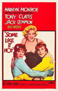 "Movie Posters:Comedy, Some Like It Hot (United Artists, 1959). One Sheet (27"" X 41"")....."
