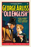 """Movie Posters:Drama, Old English (Warner Brothers, 1930). One Sheet (27"""" X 41"""") Style B.. ..."""